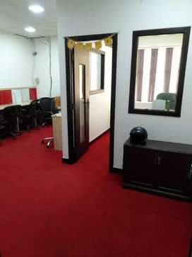 1 cabin,10 work station, for rent in sector-3 Noida