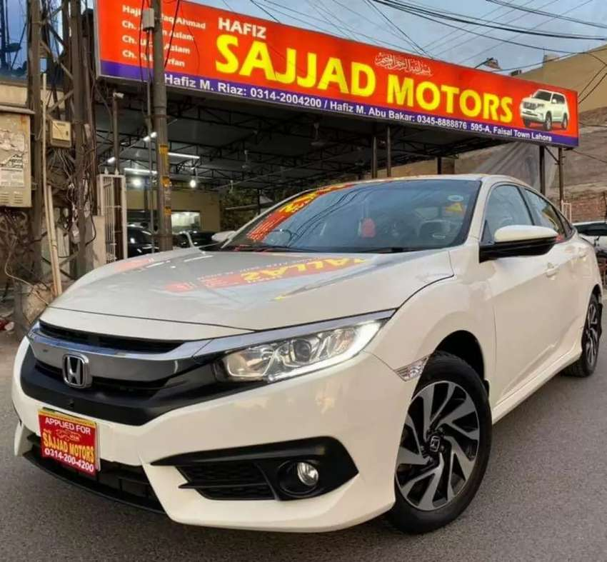 Honda Civic Vti Oriel Prosmatic Model 2017 0