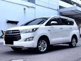 Ciamik! Toyota Innova Reborn 2.0 G AT 2016 Putih kuliatas bagus