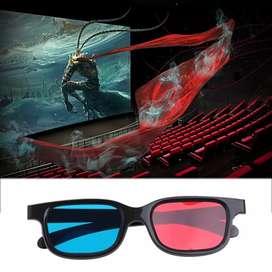 3D Glasses Plastic Frame / Kacamata 3D