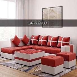 Beautiful L shaped sofa set