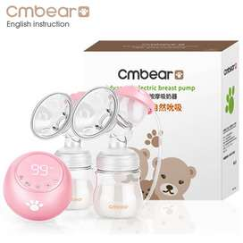 Pompa Asi Elektrik Rechangeable Cmbear Double Breast Pump