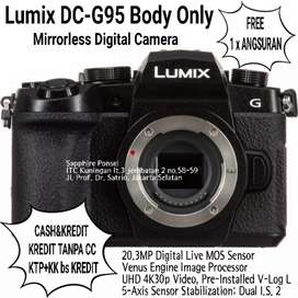 [Camera Fotografi Panasonic] Lumix DC-G95 Body Only -Bisa Cash&Kredit