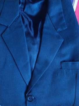 Black blazer , to fit medium size ,tripple buttoned.