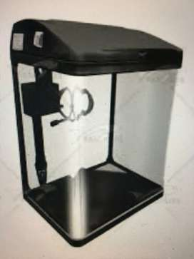 Aquarium with all accessories and iron table- 4 month old