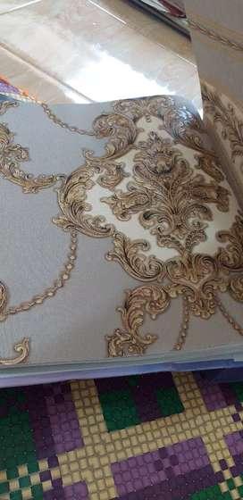 Wallpaper premium..korea..tebal dan timbul