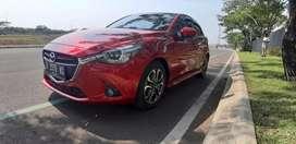 Mazda 2 GT 2015 Merah KM 46rb