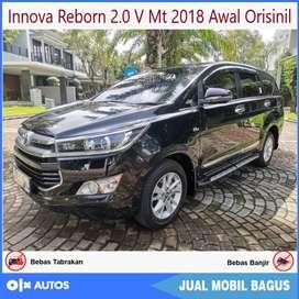 Innova Reborn 2.0 V Bensin Mt 2018 awal Orisinil Bisa Kredit