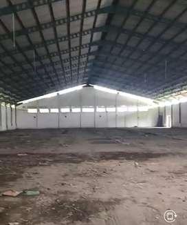 Disewakan gudang murah meriah LB 6000m, LT 1.1ha di Kab. Semarang