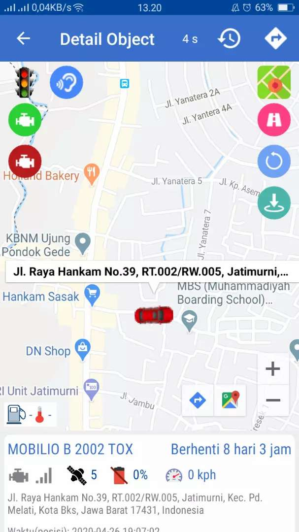 Murah..! GPS TRACKER wetrack terbaik/termurah di cikalong kulon+server 0