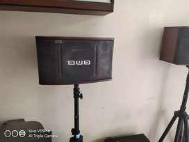 Sound system BMB lengkap dengan mixer