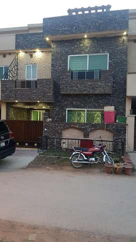 5marla new furnished house4rent short long period in bahria town rwp