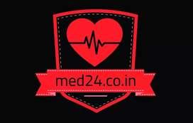 Need a call center executive girl for medicine company