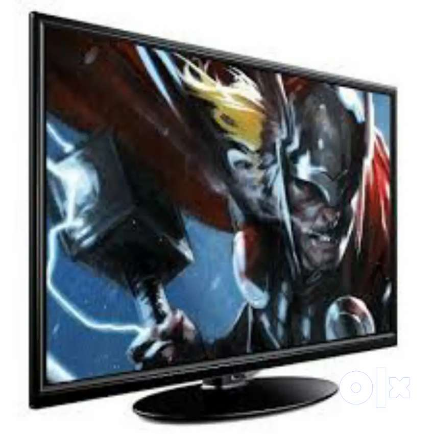 =/ 32 inch smart sony panel full hd led tv with warranty and bill. P
