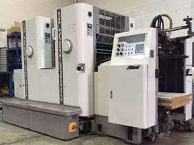 Service mesin cetak offset, mesin potong kertas, finishing