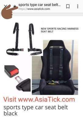 Sports seat belt for 4x4 ,thar, jeep , gypsy , and , more