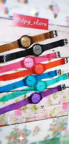 Jam tangan Q&Q jelly