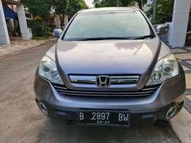 Honda CRV 2.4 Matic Tahun 2008 istimewa tt Fortuner/Innova/Xtrail 2009
