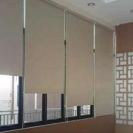 Roller blinds FDE gorden hordeng interior seni kreatif