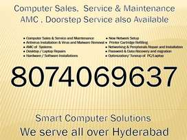 Computer Repair  OS Installation  Doorstep Service also available