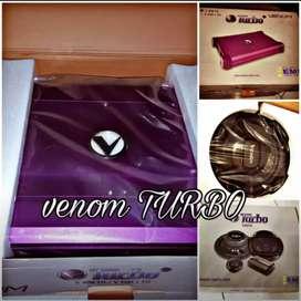 Promo Special Paketan audio full venom turbo+box+kabel+pasang