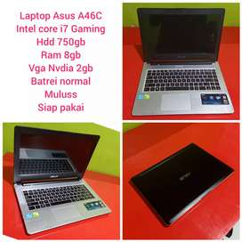 Laptop Asus A46C intel Core i7 Gaming