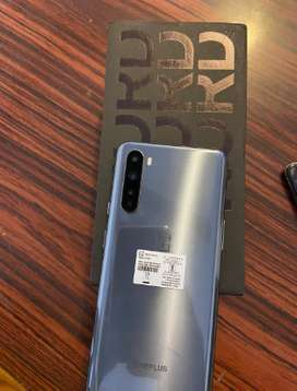 The latest model available Oneplus Nord with warranty (one month used)