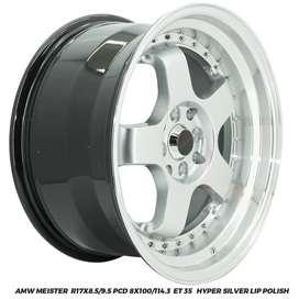 Velg Mobil AMW Meister R17x8,5/9,5 pcd 8x100/114.3 et35