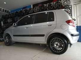 Hyundai pakai velg hsr numfor r15x7 bisa kredit syarat ktp asli