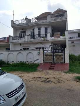 A three storey kothi constructed in PUDA Approved colony