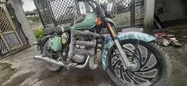 Classic 350 modified bike