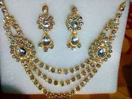 New Stunning Attractive Stone Worked Jewellery Set