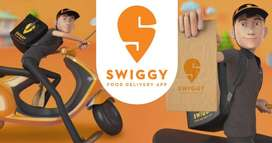 Swiggy process Hiring For Delivery boys/ Biker in NCR with best SaIary