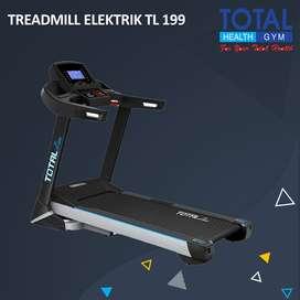 Treadmill Elektrik Motor 3 HP bisa COD + Rakit