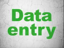 data entry operaters for offline data work