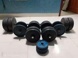 Wright lift and dumbells