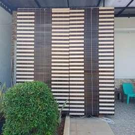 Jual kerey kayu motif