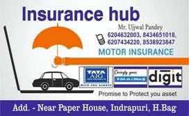 Insurance hub, near indrapuri, hazaribagh