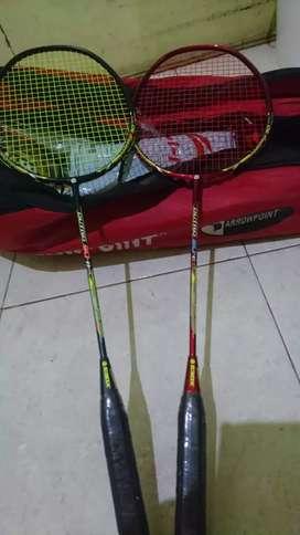 Ebox badminton raket tarik kencang