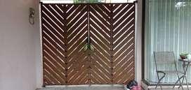 pagar kayu paling diminati murah anti rayap