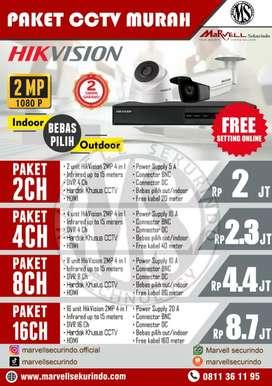 INSTALASI CCTV HARGA TERMURAH HIGH QUALITY