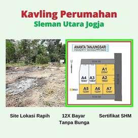 Tanah Kapling Jl. Kaliurang Jogja Dekat Kampus UII Harga DISKON 25%