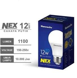 Hannochs Lampu LED NEX 12 watt Cahaya Putih