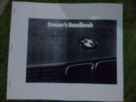 Buku pedoman pemilik BMW 318 repro m40