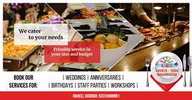 Tastiest foods at discounted rates for your wedding, birthday etc.