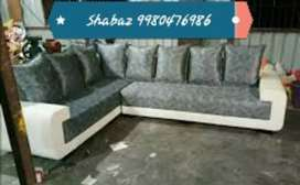 HB12 Corner sofa set with 3 years warranty call us