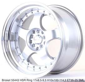 new modif BRISKET 55443 HSR R17X85/95 H10X100-114,3 ET35/25 SML