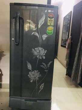 Lg 190 litre great condition single door refrigerator