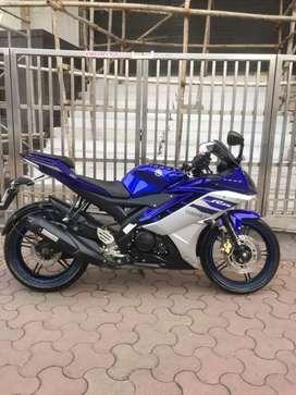 Yamaha r15 .2018 .1st owner .new bike at SS MOTORS