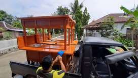 Gerobak Wedangan Angkringan free Ongkir COD 2447